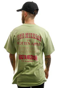 Afbeelding van HUF T-shirt Hoods S/S Tee Mint TS01012-MINT