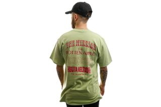 Foto van HUF T-shirt Hoods S/S Tee Mint TS01012-MINT