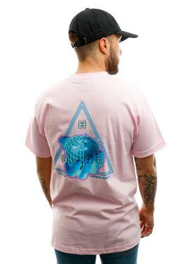 Afbeelding van HUF T-shirt Forbidden Domain S/S Tee Coral Pink TS01051-CLPNK