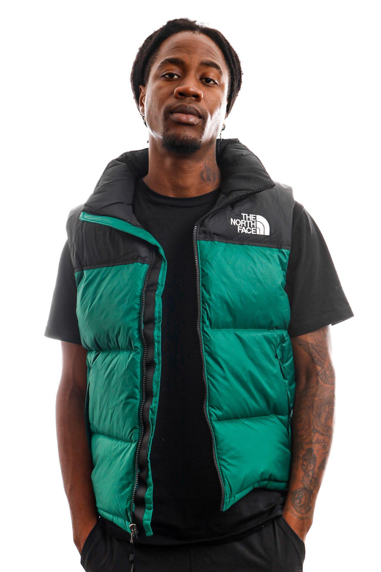 Afbeelding van The North Face Bodywarmer Men's 1996 Retro Nuptse Vest Evergreen NF0A3JQQNL11