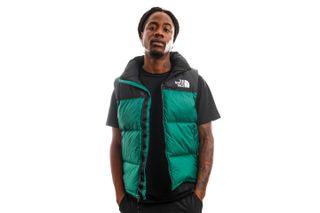 Foto van The North Face Bodywarmer Men's 1996 Retro Nuptse Vest Evergreen NF0A3JQQNL11