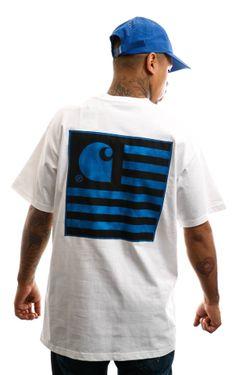 Afbeelding van Carhartt T-shirt S/S State Chromo T-Shirt White I027728