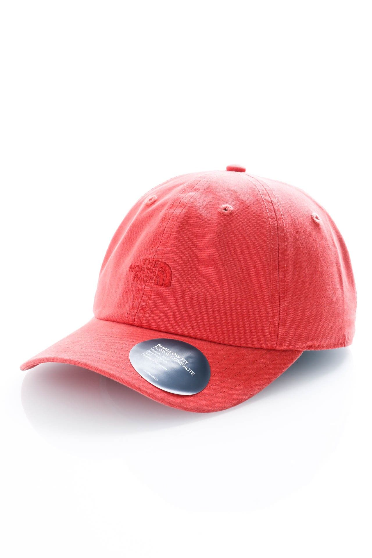 Afbeelding van The North Face Dad Cap Washed Norm Hat Sunbaked Red NF0A3FKNPKB