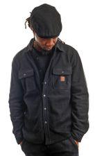 Brixton Blouse Bowery L/S Arctic Stretch Fleece Black 1221