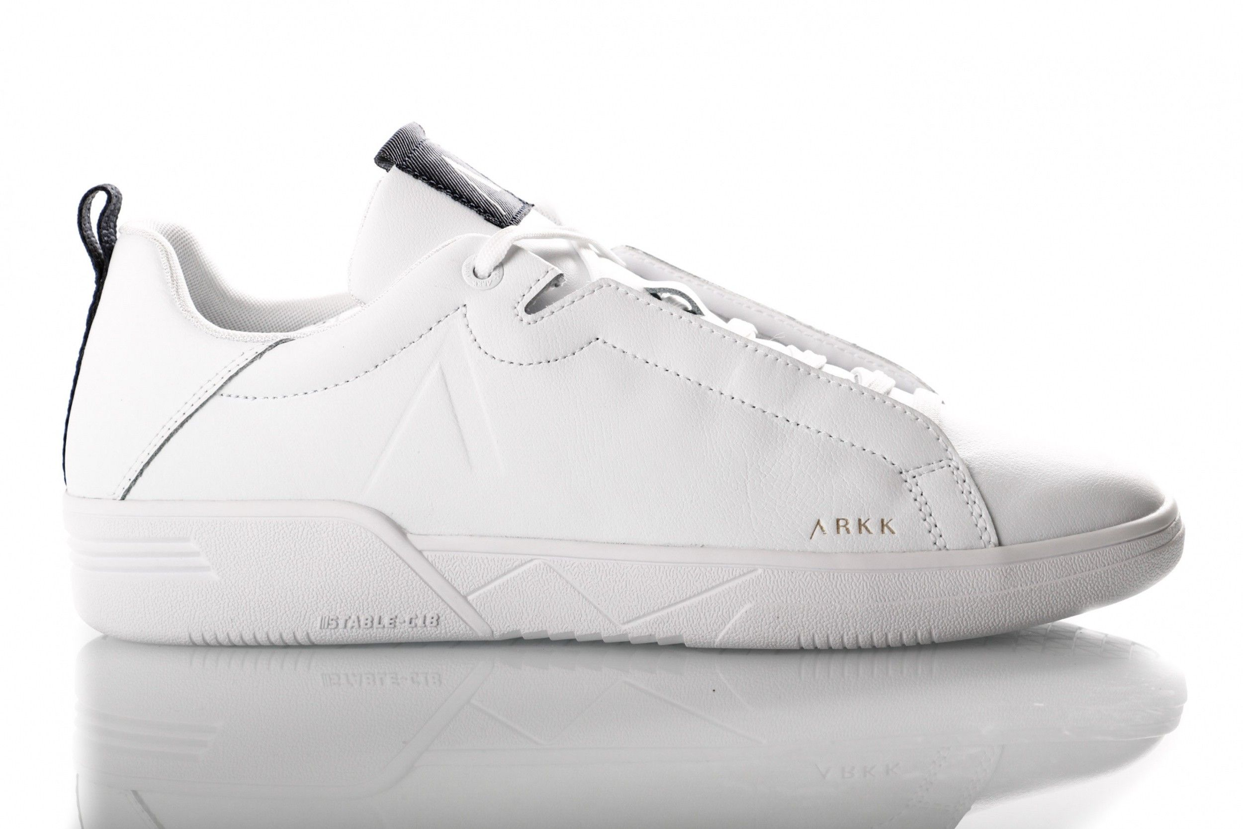 Afbeelding van Arkk Uniklass Leather S-C18 4601-1052 Sneakers White Midnight