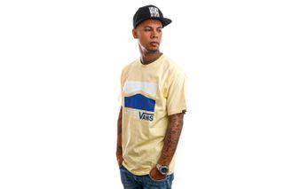 Foto van Vans T-Shirt Original DNA Side Mellow Yellow VN0A5E7U0DO1