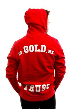 Afbeelding van In Gold We Trust Hooded The Notorious Red IGWTH-011-R