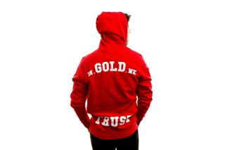 Foto van In Gold We Trust Hooded The Notorious Red IGWTH-011-R