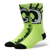 Stance X Billie Eilish Anime Eyes U558B19Ani Sokken Neon green