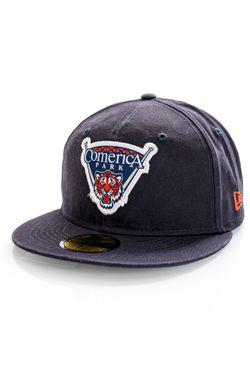 Afbeelding van New Era Detroit Tigers Fitted Cap STADIUM PATCH 59FIFTY DETTIG Navy NE60141916
