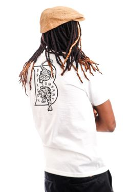 Afbeelding van Brixton T-shirt Crawler S/S STT White 16258