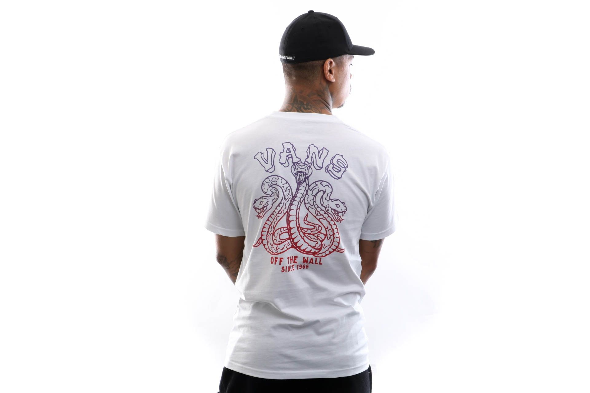 Afbeelding van Vans T-Shirt Mn Tres Culebras Ss White VN0A49QCWHT1