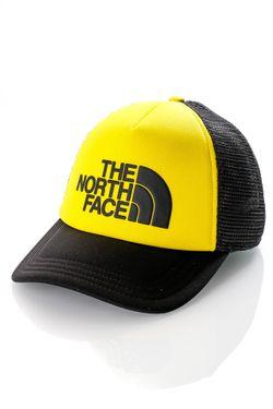 Afbeelding van The North Face Trucker Cap Tnf Logo Trucker Tnf Black/Tnf Lemon NF0A3FM3P77