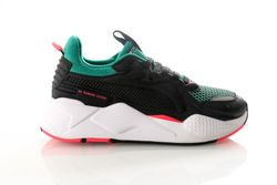 Afbeelding van Puma Rs-X Soft Case 369819 06 Sneakers Puma Black-Cadmium Green