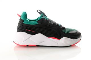 Foto van Puma Rs-X Soft Case 369819 06 Sneakers Puma Black-Cadmium Green