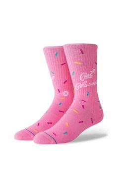 Afbeelding van Stance Sokken Glazed Pink M556C18GLA