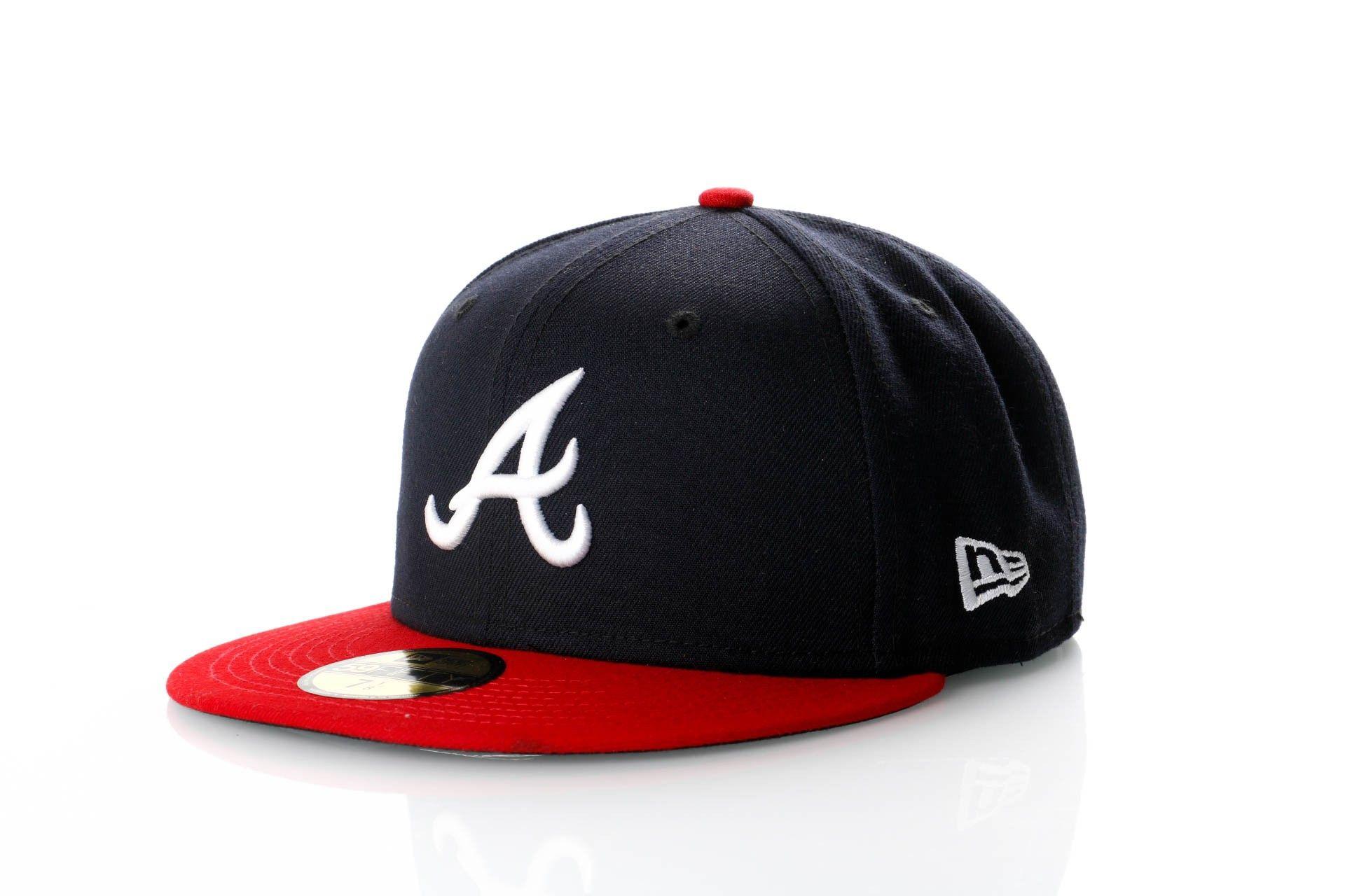 Afbeelding van New Era Fitted Cap Atlanta Braves Ac Perf 59Fifty 70361069