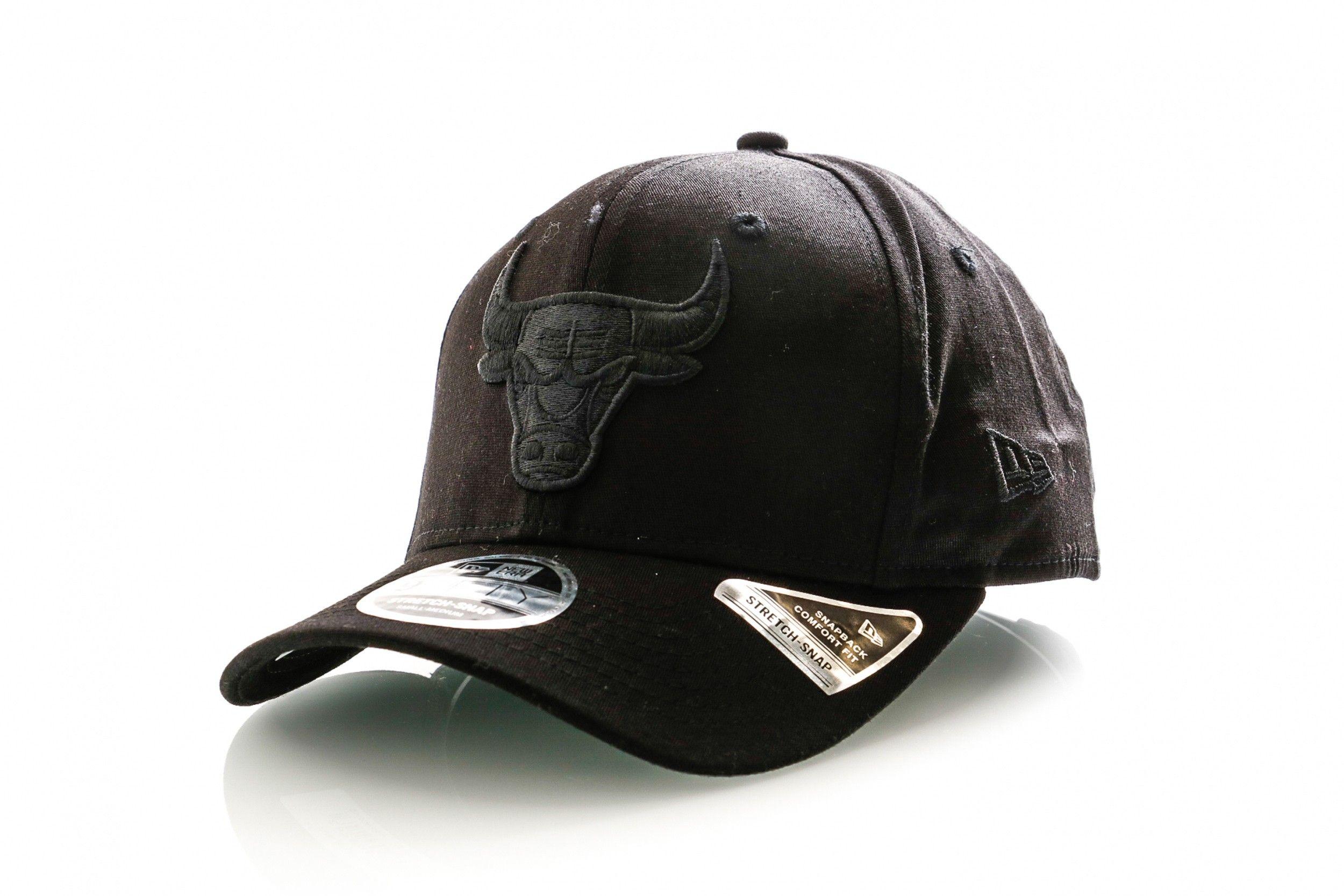 Afbeelding van New Era Snapback Cap Tonal Black 9Fifty Stretch Snap Blk 12285245