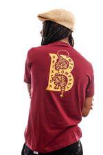 Brixton T-shirt Crawler S/S STT Burgundy 16258