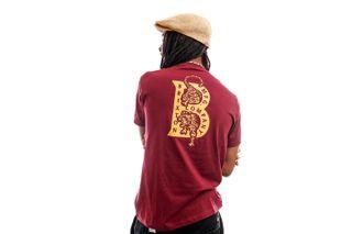 Foto van Brixton T-shirt Crawler S/S STT Burgundy 16258