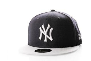 Foto van New Era Fitted Cap New York Yankees Colour Block 11941840