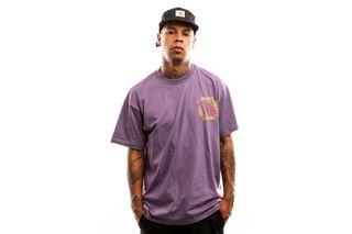 Foto van Carhartt Wip S/S Virtual T-Shirt I027102 T Shirt Dusty Mauve