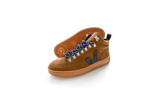 Foto van Veja Sneakers RORAIMA NUBUCK TENT BLACK QR132659