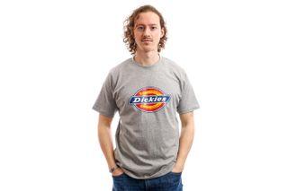 Foto van Dickies T-Shirt Horseshoe Tee Men Grey Melange DK60075XGYM1