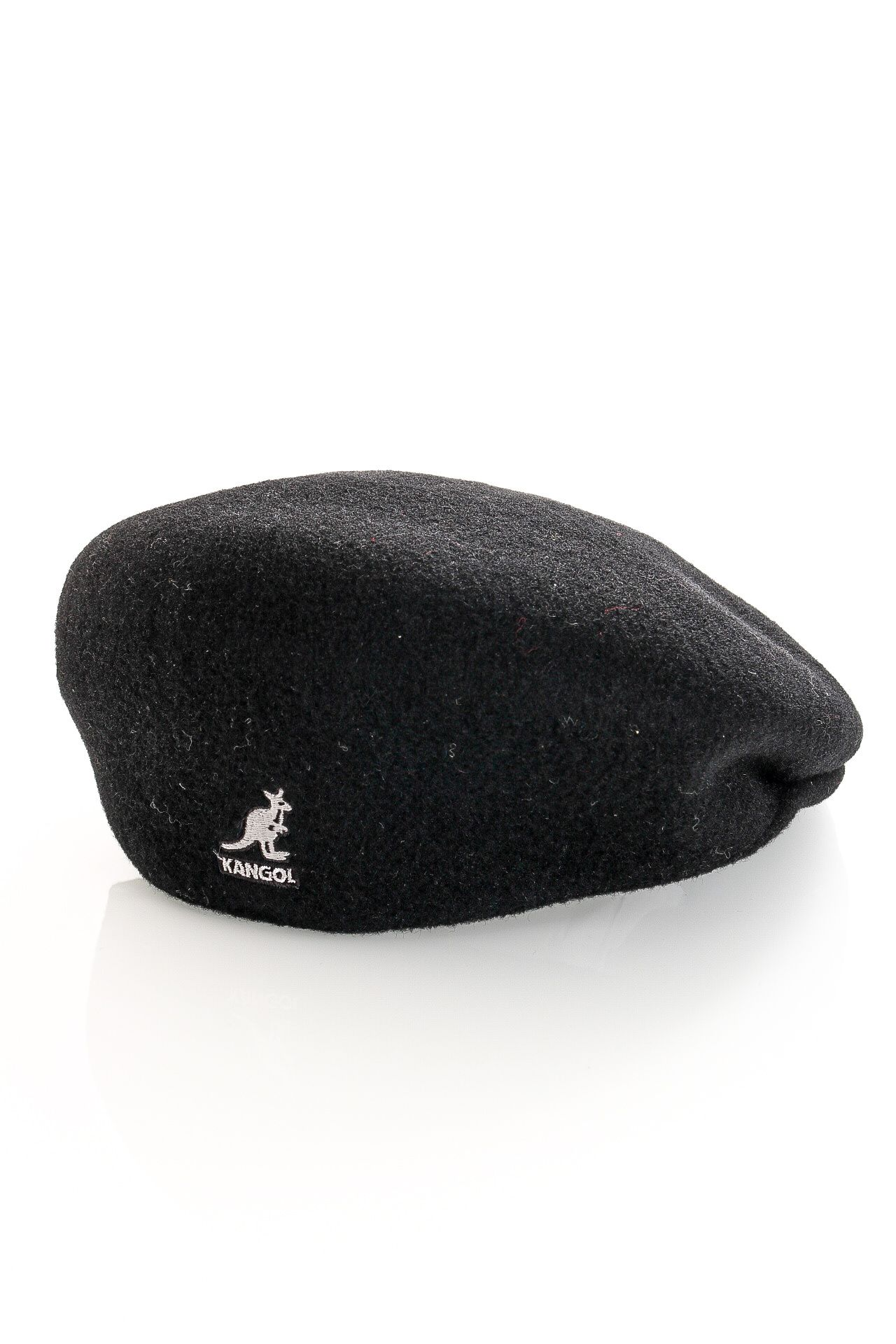 Afbeelding van Kangol 0258Bc Flat Cap Wool 504 Zwart