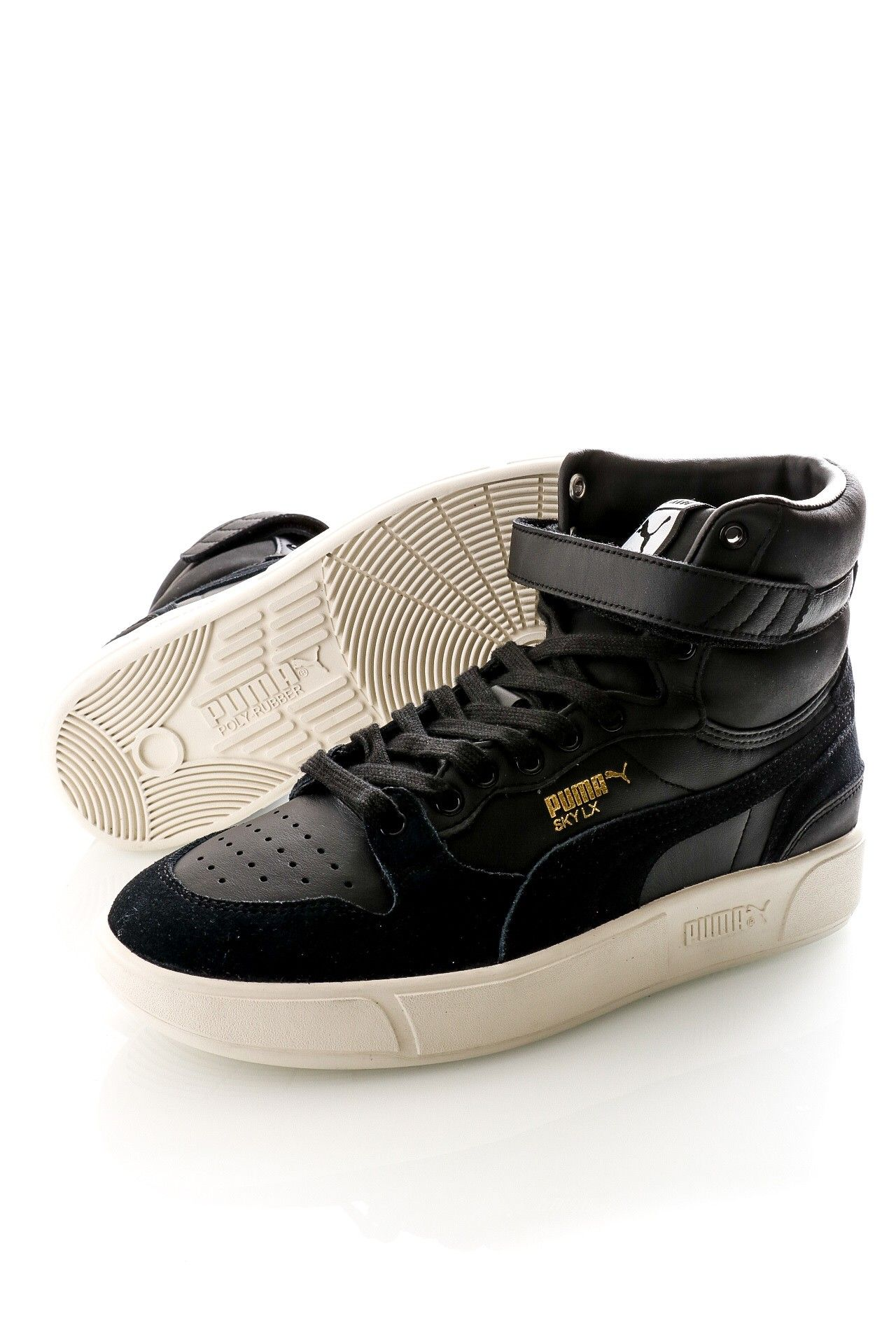 Afbeelding van Puma Sneakers Sky Lx Mid Lux Puma Black-Whisper White 372870 02