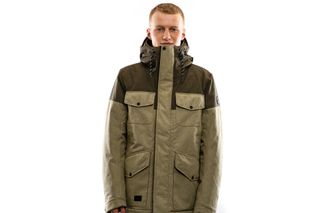 Foto van Reell Jacket Field Jacket 2 Light Olive / Olive 1306-048
