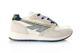 Foto van Hi-Tec Bw 146 S010002/011 Sneakers Off White/Navy/Gold