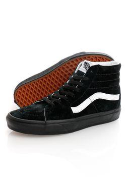 Afbeelding van Vans Sneakers UA SK8-Hi (PIG SUEDE) Black/Black VN0A4BV618L1