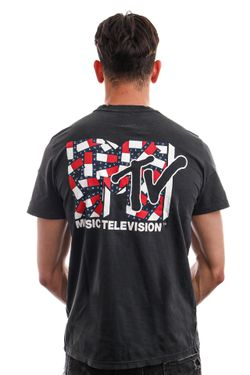 Afbeelding van Tommy Jeans T-shirt TJU X MTV Blackout DM0DM12190
