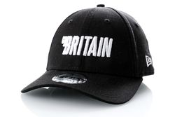 Afbeelding van Go-Britain Dad cap Logo Carrier Black/White GB-1002