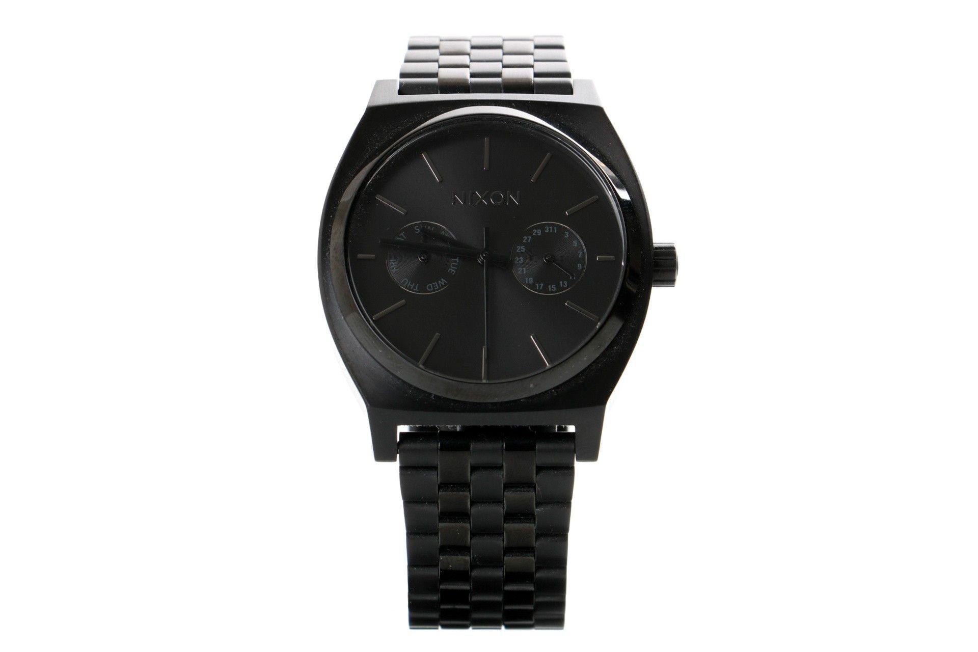 Afbeelding van Nixon A922-001 Watch Time Teller Delux Zwart