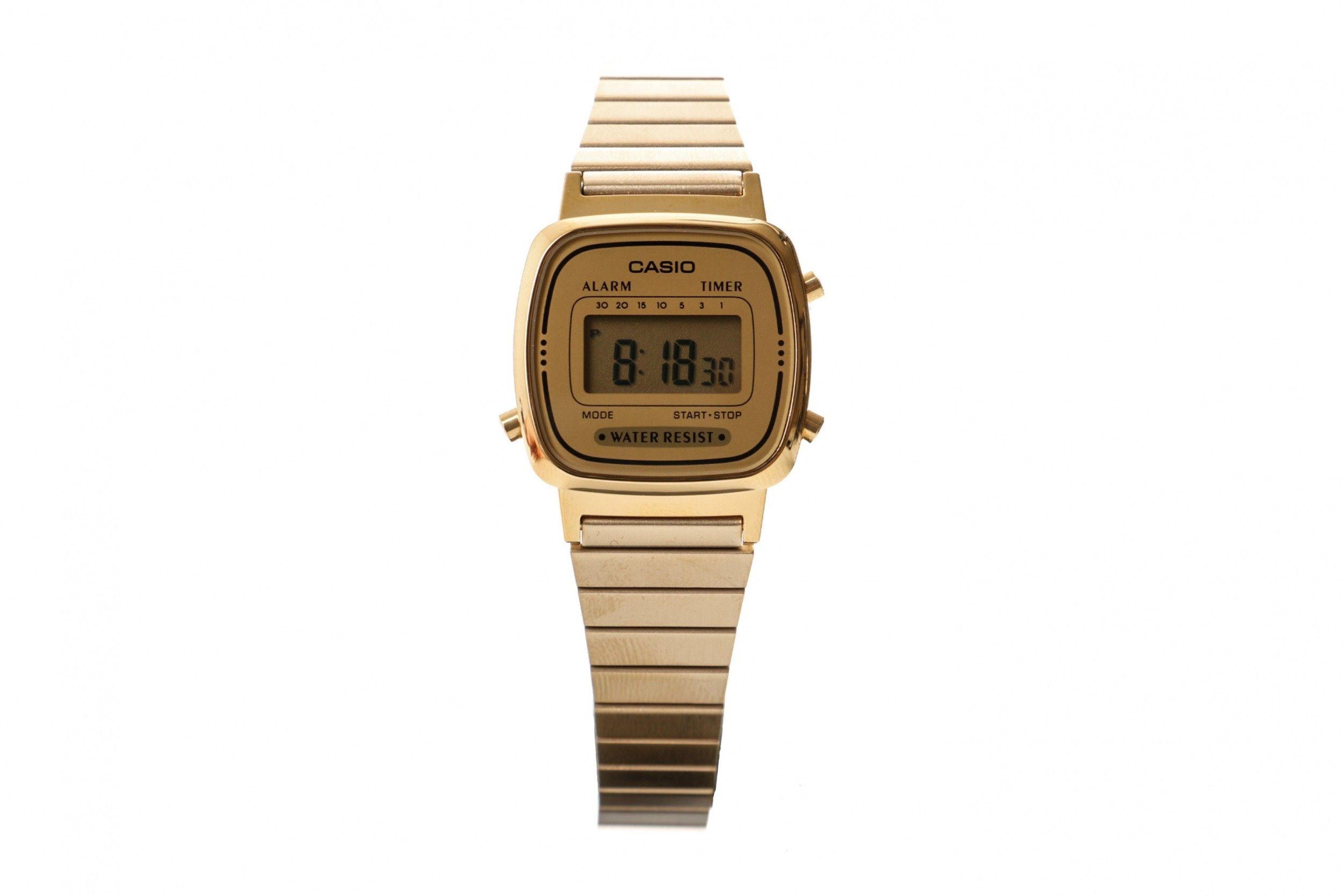 Afbeelding van Casio Vintage La670Wega-9Ef Watch La670Wega Goud