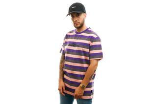 Foto van HUF T-shirt Cruz S/S Knit Shirt Coral Pink KN00239-CLPNK