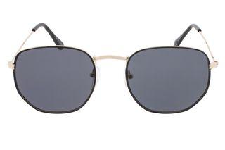 Foto van Icon Eyewear M170904 E Zonnebril Black / Gold