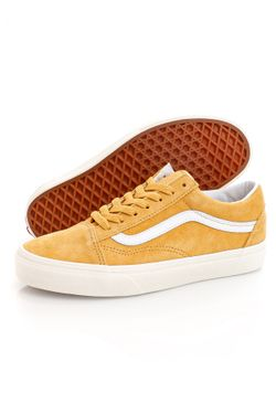 Afbeelding van Vans Sneakers UA Old Skool (PIG SUEDE) Honey Gold/ True White VN0A4U3B18Z1