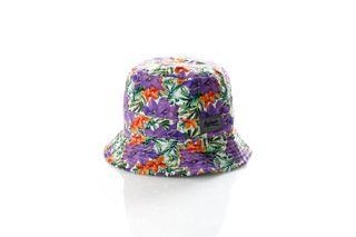 Foto van Leftside Hat Tropical Purple
