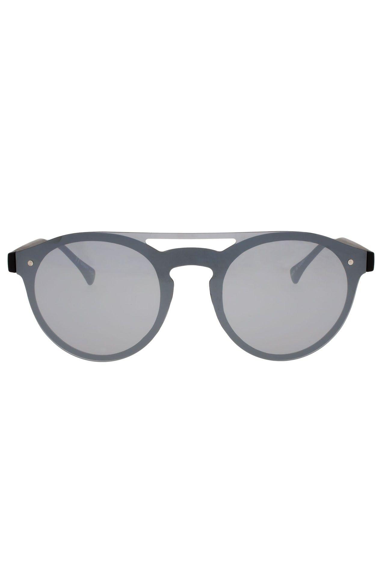Afbeelding van Icon Eyewear 16P8571 A; Matt Black / Silver Mirror