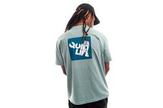 Foto van The Quiet Life T-shirt Block Logo Tee Mist QL-21SPD2-2150