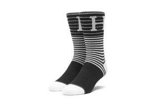 Foto van Huf Morris Sock Sk00418-Black Sokken Black