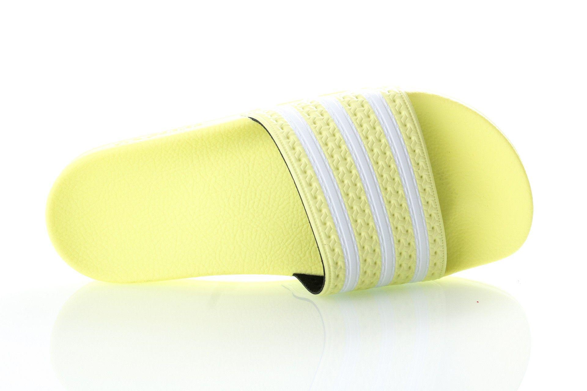 Afbeelding van Adidas Slipper Adilette W yellow tint/ftwr white/yellow tint EG5005
