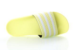 Foto van Adidas Slipper Adilette W yellow tint/ftwr white/yellow tint EG5005