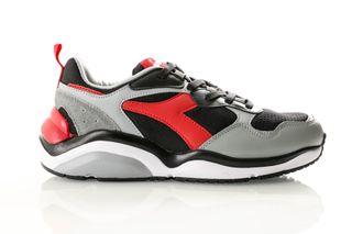 Foto van Diadora Whizz Run 501174340 Sneakers Black/Red Capital