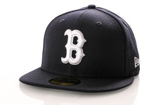 Foto van New Era Fitted Cap Boston Red Sox League Essential 59Fifty 12040450