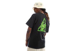 Foto van HUF T-shirt Green Buddy S/S Tee Black TS01607
