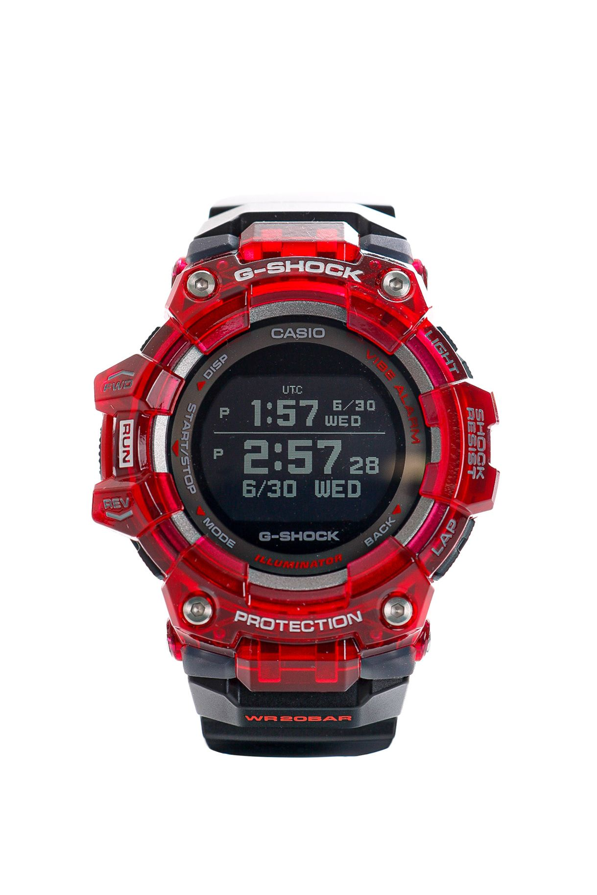Afbeelding van Casio Horloge G-SHOCK Physical Lab GBD-100SM Red/Black
